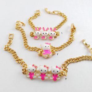دستبند بچگانه طرح کیتی